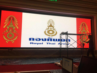 LED video wall in Royal Thai Army